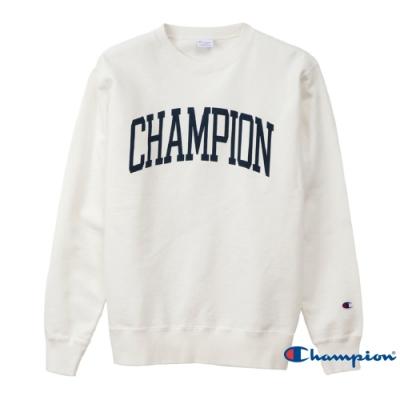 Champion Campus印花Logo大學Tee 白色