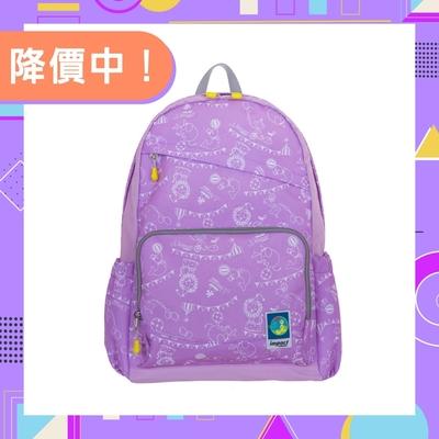 【IMPACT】樂學系列-後背包開心馬戲團款-紫色 IM00R03PL
