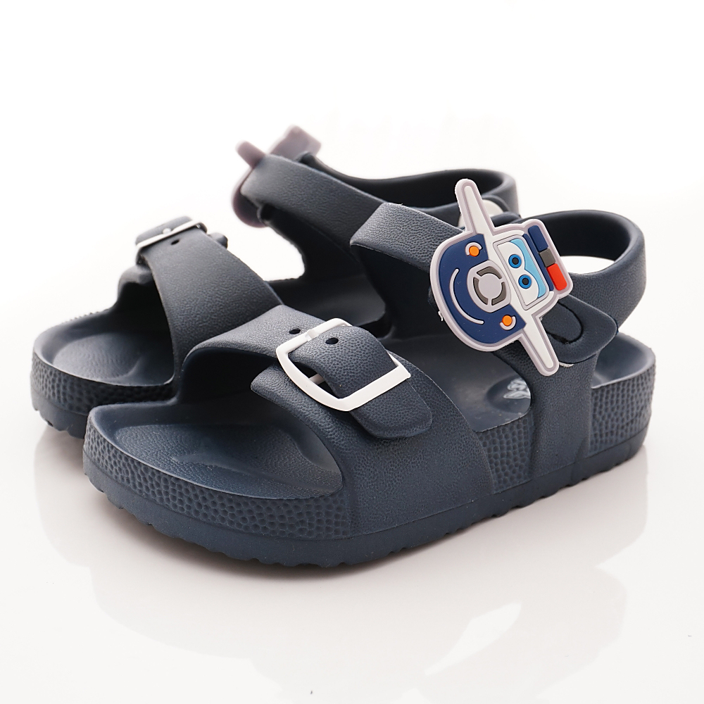 SUPER WINGS 保羅超輕量涼鞋款 EI3846深藍(中小童段)
