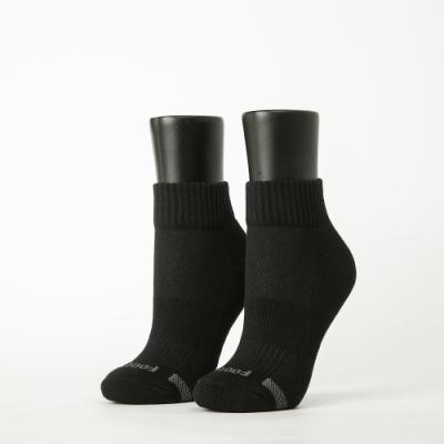 Footer除臭襪-素面運動逆氣流氣墊襪-六雙入(黑*2+白*2+深灰*2)