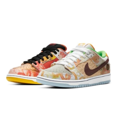 NIKE SB Dunk Low Street Hawker 食神 CV1628-800