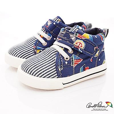 雨傘牌 海軍風休閒鞋款 EI73237藍(小童段)