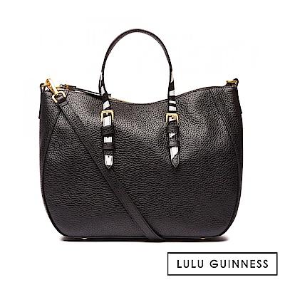 LULU GUINNESS JULIA 手提包 (黑)