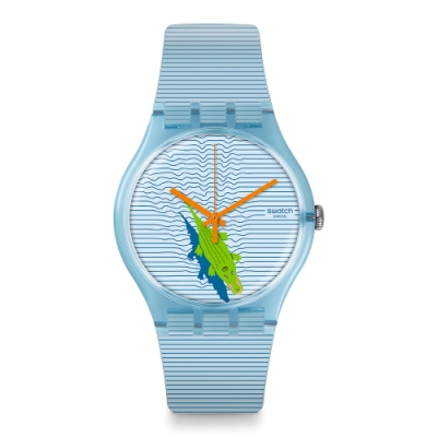 Swatch New Gent 原創系列手錶 POOL SURPRISE -41mm