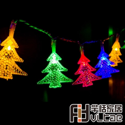 Fit Vitae羋恬家居 節慶居家佈置LED燈飾(雙色聖誕樹-2.5m)