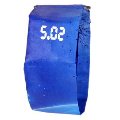 Watch-123 乖張放肆-抖音潮選第一只印花LED紙手錶 (8色任選)