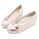 PLAYBOY GOPLAY 走不累Fancy增高娃娃鞋 -粉-Y729399 product thumbnail 1
