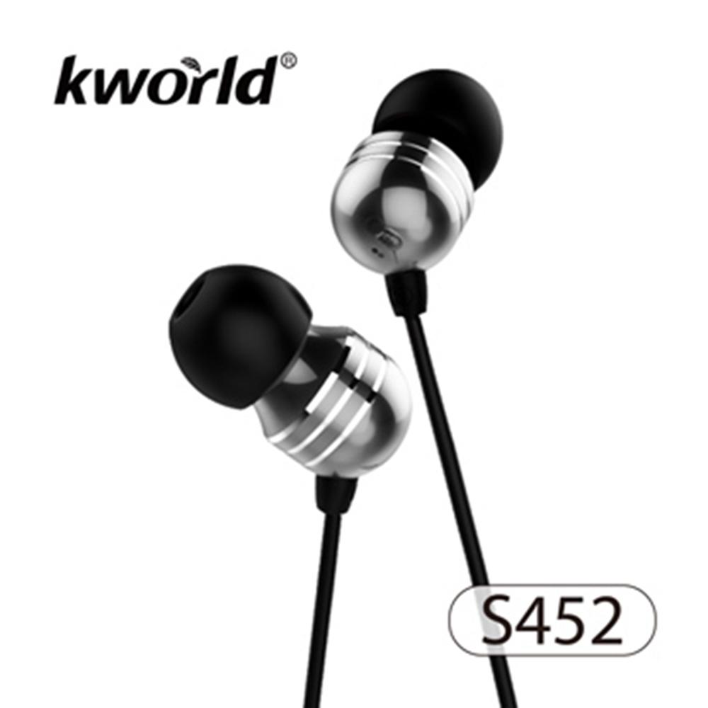 【Kworld 廣寰】音樂耳機麥克風S452