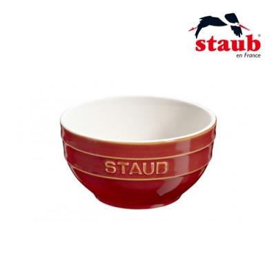 法國Staub 圓型陶瓷碗 12cm 古銅色
