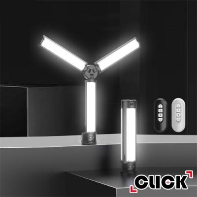 CLICK柯雷卡 美顏神器 LED攝影/直播 /補光棒 /三折式便攜補光燈