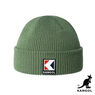 KANGOL-SERVICE-K 2WAY頭顱帽-草綠色
