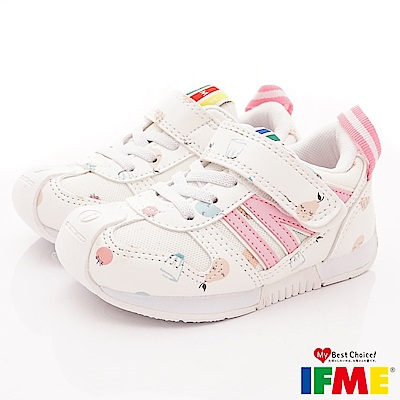 IFME健康機能鞋 輕量運動款 FI71002白(小童段)