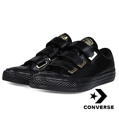 CONVERSE-All Star 3V OX女休閒鞋-黑