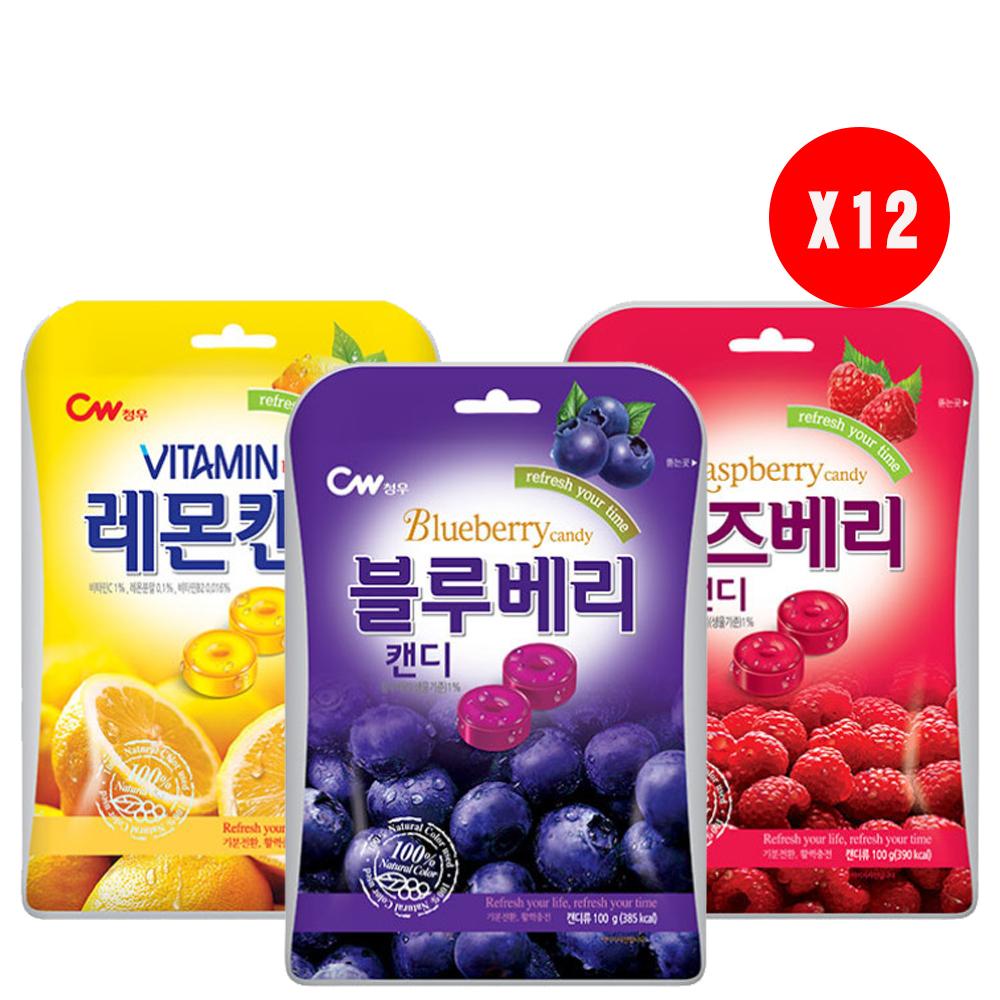 韓國CW風味糖(100gx12袋) @ Y!購物
