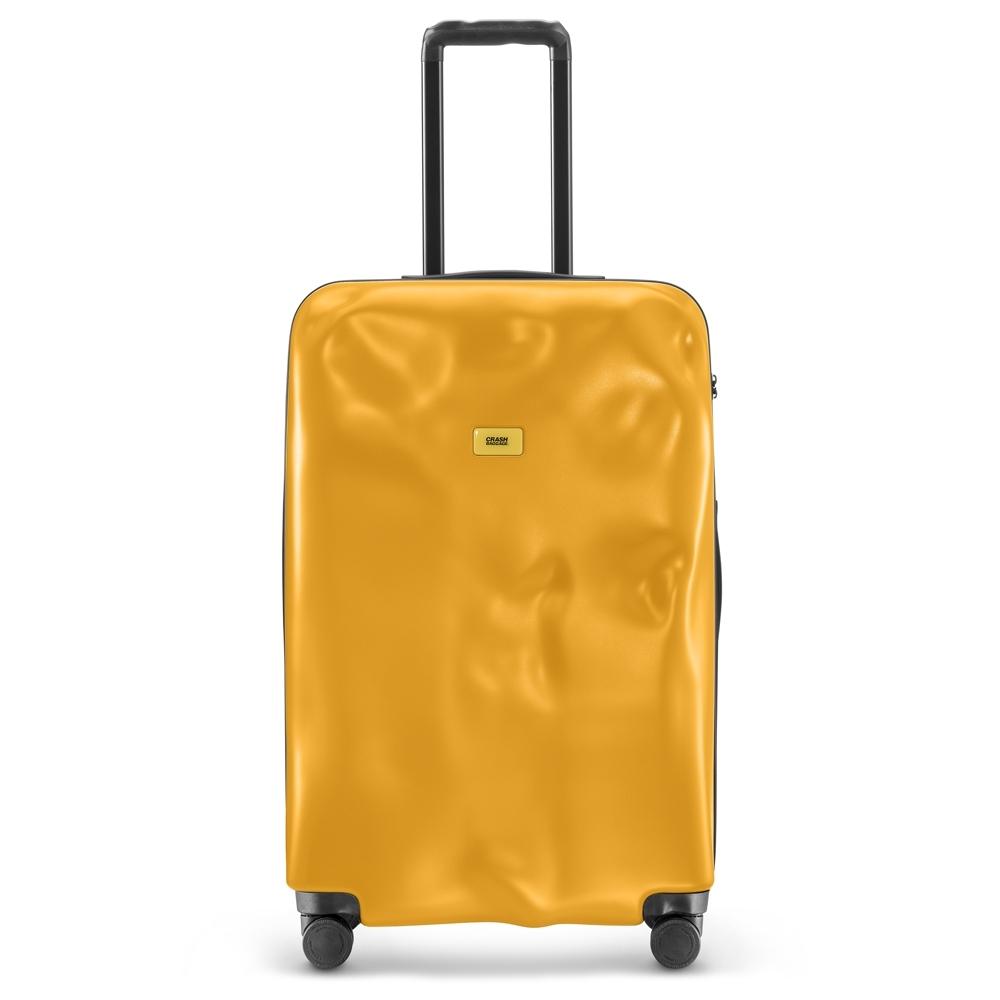 【Crash Baggage】New Icon拉鍊款29吋經典黃防撞行李箱