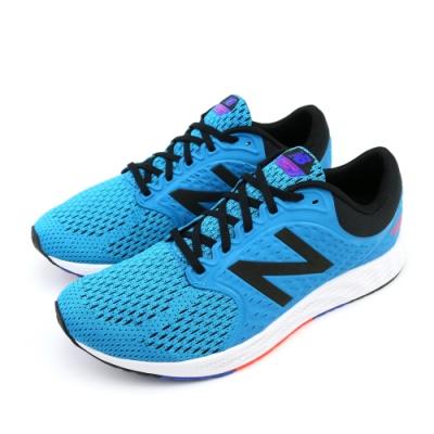 NEW BALANCE 避震跑鞋 男跑步鞋 藍黑