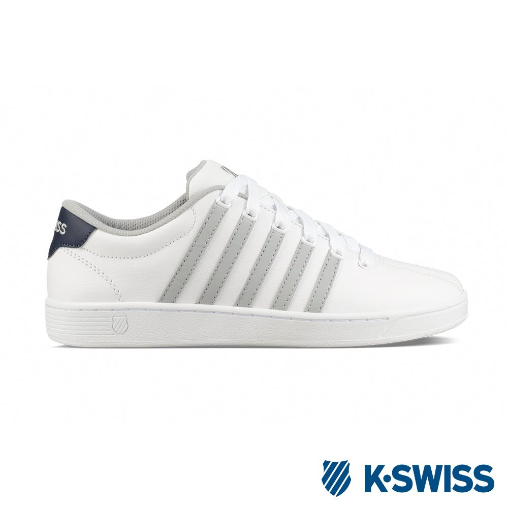 K-SWISS Court Pro II CMF休閒運動鞋-男-白/灰