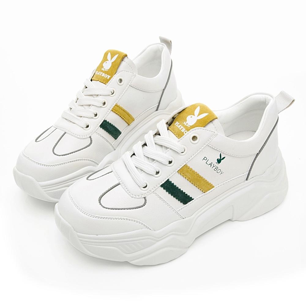 PLAYBOY Vintage III兔兔老爹鞋-米-Y632933