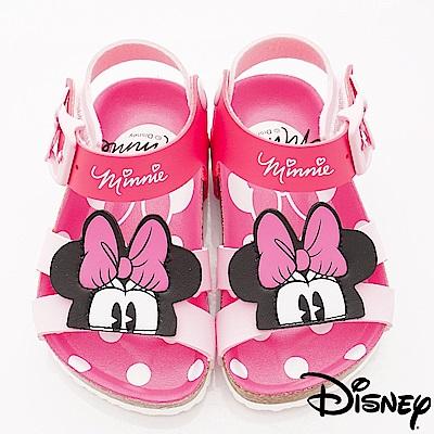 迪士尼童鞋 米妮軟木拖鞋款 ON19393粉(中小童段)
