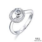 點睛品Diamond in Motion炫動0.18克拉鑽石戒指