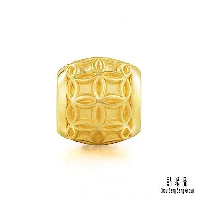 點睛品 Charme 文化祝福 銅錢轉運珠 黃金串珠