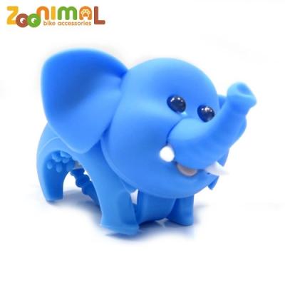 ZOONIMAL 無毒材質可愛動物LED公仔單車用前燈-快樂象