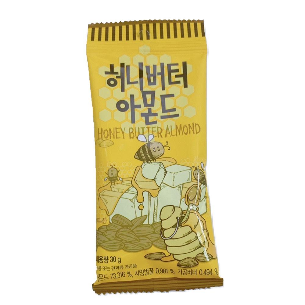 韓國Toms Gilim 超熱銷蜂蜜奶油杏仁果(30g)
