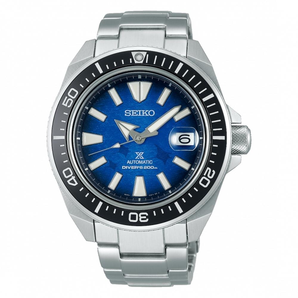 SEIKO精工 PROSPEX經典魟魚潛水200米機械腕錶4R35-03W0B(SRPE33J1)