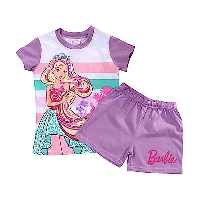 芭比純棉防蚊布短袖套裝 k51216 魔法Baby