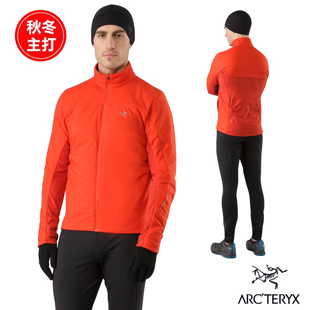 Arcteryx 始祖鳥 男 Argus 化纖保暖外套 紅 @ Y!購物