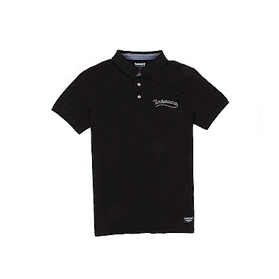 Timberland 男款黑色短袖POLO衫  | A1USG001