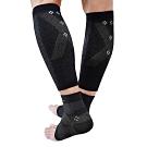 王鍺能量活氧循環飛躍健腿、護踝套組2件組(鍺+竹炭+銀纖維) 加贈日本彈力保暖機能衣