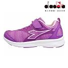 Diadora 兒童慢跑鞋 大童 加寬楦 紫 DA9AKR7207