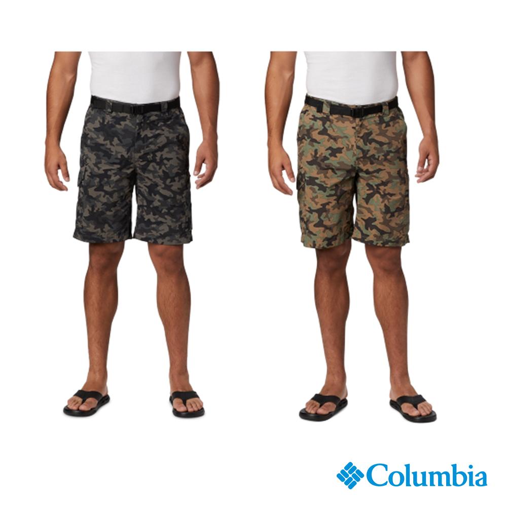 Columbia 哥倫比亞 男款-快排 防曬50 迷彩短褲- 2色 UAE47230