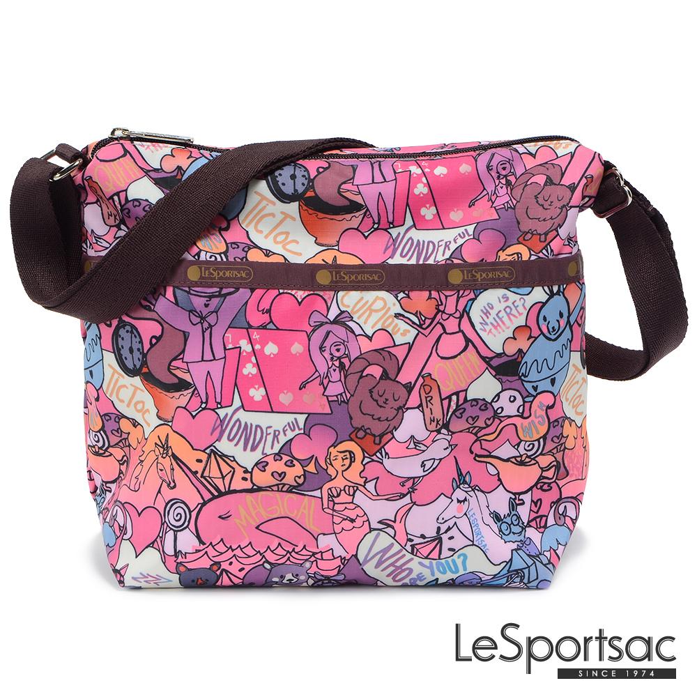 LeSportsac - Standard側背小方包(紫色童話)