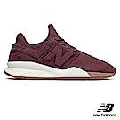 New Balance 復古鞋_WS247STB_女性_酒紅