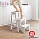 C'est Chic_小山丘實木三層樓梯椅-白 W41.5 *D30.5 *H62 cm product thumbnail 1