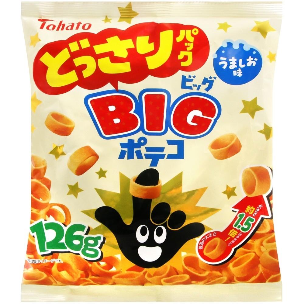 Tohato東鳩 BIG手指圈圈餅(126g)