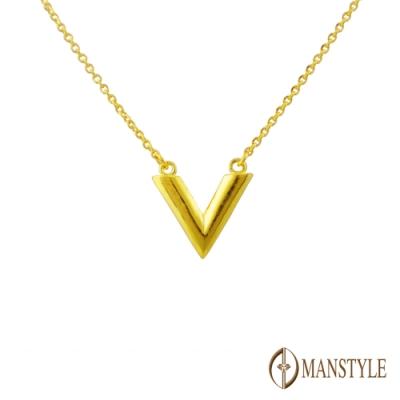 MANSTYLE 勝利 黃金小套鍊 (約0.97錢)