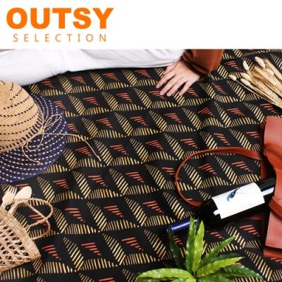 【OUTSY】限量花布系列輕量野餐墊