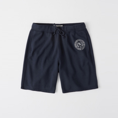AF a&f Abercrombie & Fitch 短褲 藍 1335