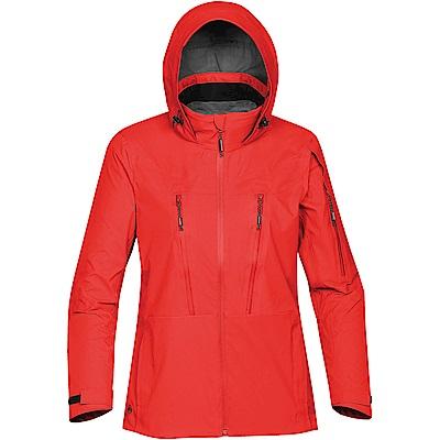 加拿大STORMTECH旗艦款全防水透氣輕量機能外套-女-紅