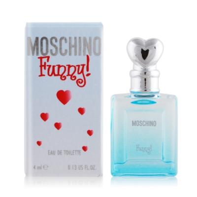 MOSCHINO 莫斯奇諾 愛情趣女性淡香水 Funny 4ml