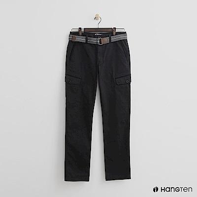 Hang Ten - 男裝 - 口袋造型休閒褲 - 灰