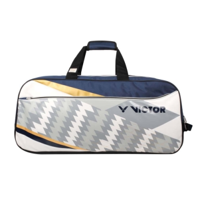VICTOR 2020奧運系列12支裝矩形包-LTD 限定 羽球 訓練 勝利 BR9609LTDAB 丈青白灰金