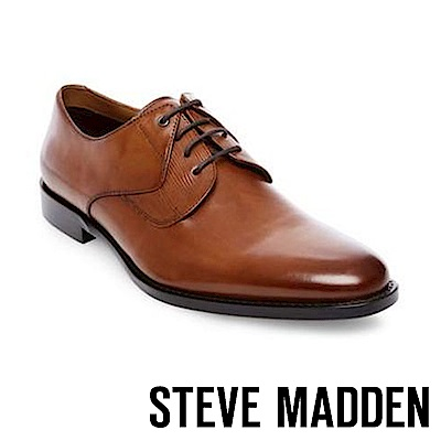 STEVE MADDEN-PLACKS特殊壓紋設計紳士鞋-咖啡