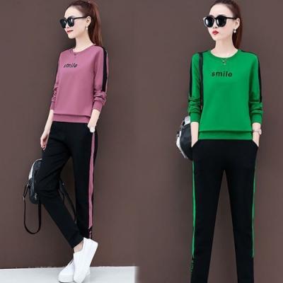 【韓國K.W】(預購)韓國氣息焦點套裝褲(共2色)