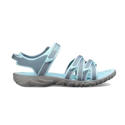 TEVA Tirra 經典織帶涼鞋 灰藍色 大童 TV1019395YCITA
