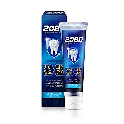 韓國2080 強盾牙齒保健牙膏(雙重薄荷)藍120gX2入