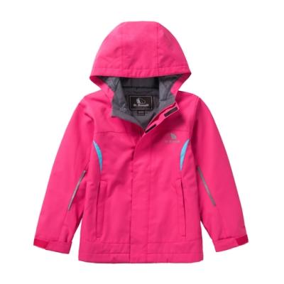 【St. Bonalt 聖伯納】戶外機能防風防潑水水單層衝鋒衣│童款-8025